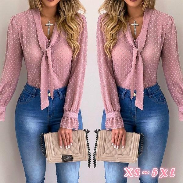 blouse, Fashion, Blouses & Shirts, long sleeve blouse