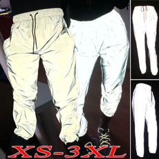 elastic waist, men trousers, Long pants, pants