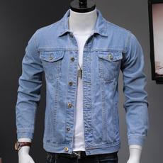 Fashion, denim jacket, outwearcoat, lights
