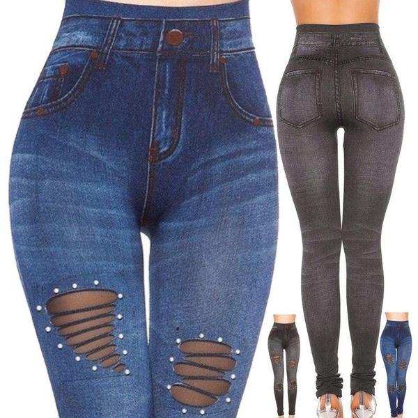 sexy leggings, trousers, high waist, Elastic