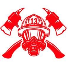 Car Sticker, Fashion, Home Decor, firefighting