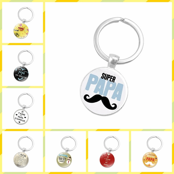 Key Chain, Jewelry, Gifts, papa