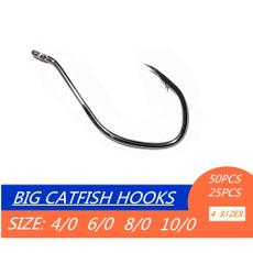 Steel, catfishhook, nickel, octopuscirclefishinghook
