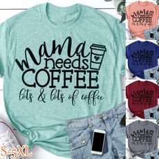 Summer, Coffee, momshirt, summerfashiontop