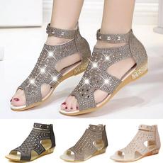 wedge, Fashion Accessory, Sandals, Women Sandals