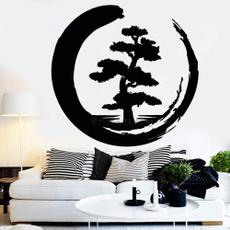 Home Decor, Stickers, zen, treeoflife