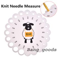 needlegauge, Knitting, sizer, ruler