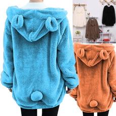 cute, Fleece, Fashion, Winter