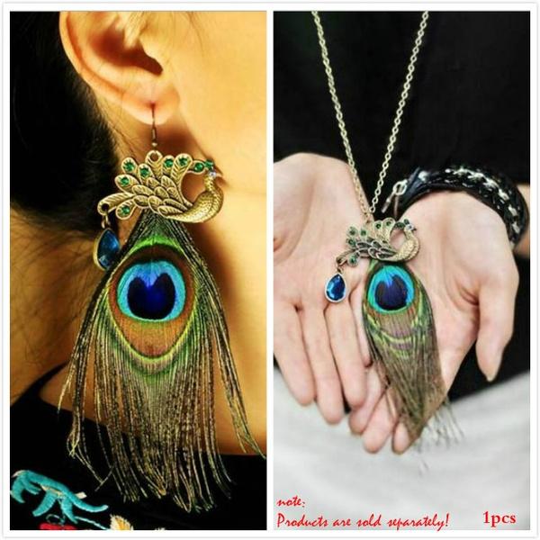 peacock, Tassels, DIAMOND, Jewelry
