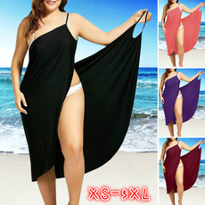 Summer, Plus Size, Spaghetti, women dresses