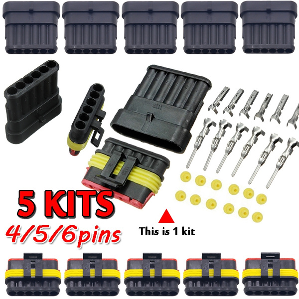 automotivewireconnector, Pins, Waterproof, maleandfemaleconnector