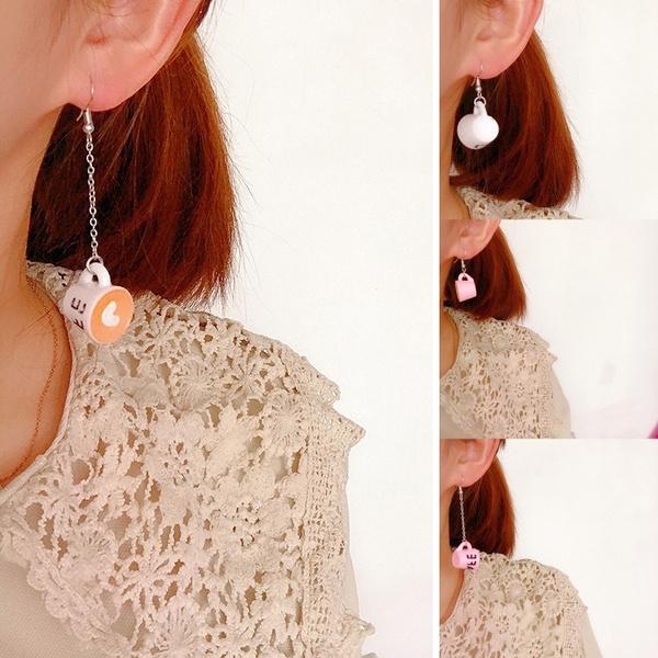 Mini, Coffee, Fashion, Dangle Earring