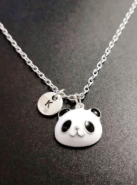 Pendant Necklace, Animal, Chinese, Bears