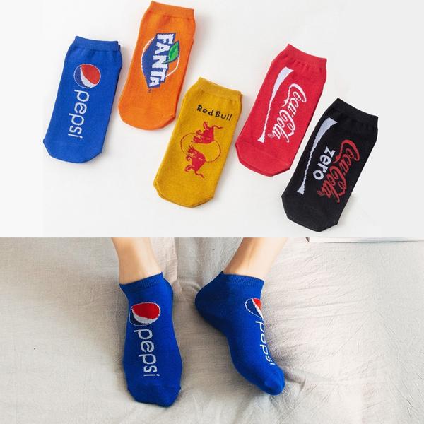 Funny, boatsock, Cotton Socks, Colorful