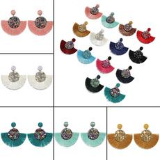 Tassels, Fashion, fringeearring, Jewelry