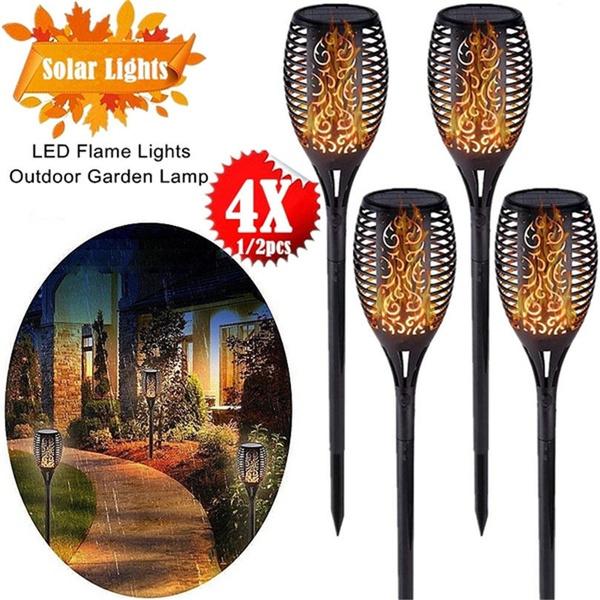 ledflamelight, solartorchlight, Outdoor, led