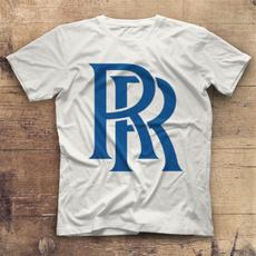 Summer, Fashion, Cotton T Shirt, Rolls Royce