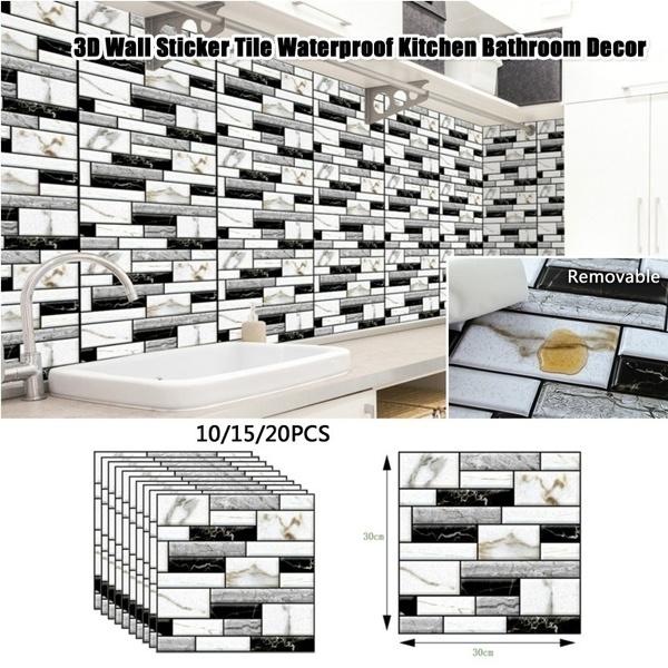 bricksticker, Home Decor, Waterproof, walldecoration