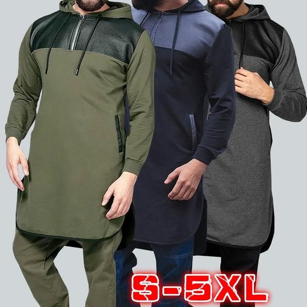 hooded, Shirt, Sleeve, kaftan