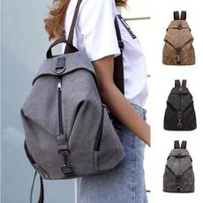 women bags, backpackforwomen, Canvas, Bags