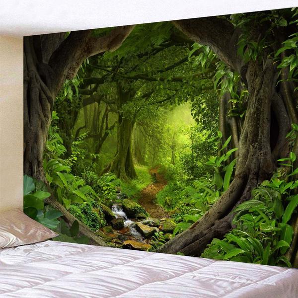 Wall Art, mandalatapestry, fantasy, Mystic