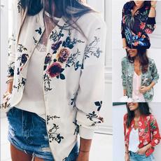 casual coat, Fashion, floraljacket, Shorts