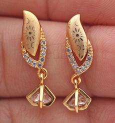 earrings jewelry, leaf, Jewelry, topazearring