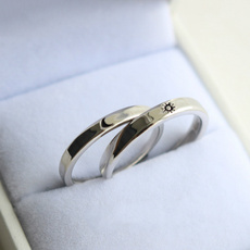 Couple Rings, adjustablering, Jewelry, Silver Ring