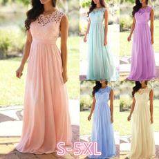 Summer, long skirt, Lace Dress, Lace