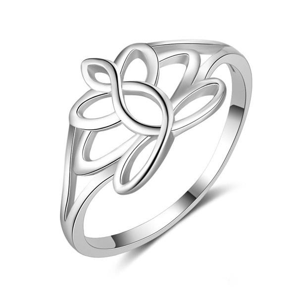Sterling, Women, Silver Jewelry, Flowers