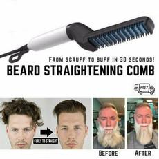 Multifunctional tool, hairstyle, Men, quickbeardstraightener