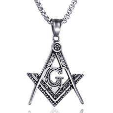 Steel, masonic, Fashion, masonicjewelery