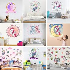Flowers, kidsroomdecoration, Colorful, walldecoration
