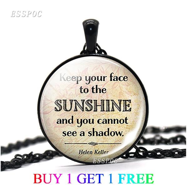 sunshine, Jewelry, alloy necklace, Necklaces Pendants