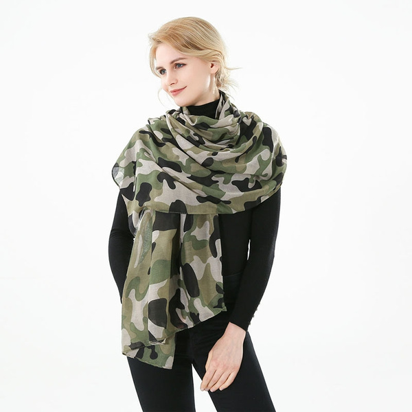 women scarf, Army, Shawl, camouflage