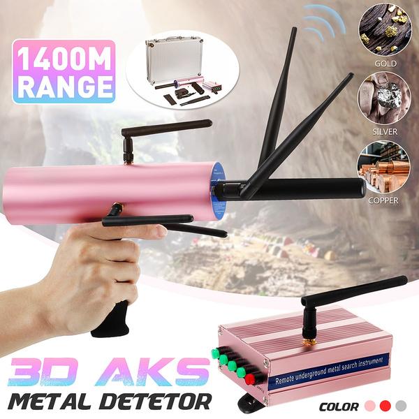 3D AKS Metal Detetor Multi-antenna Detective 1400M Range Gold Sliver Scanner