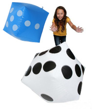 giant, Toy, Dice, Inflatable