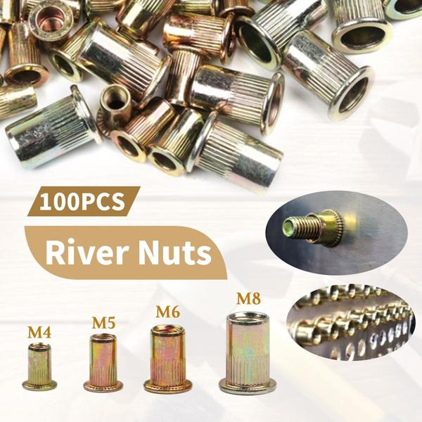 Steel, rivetingtool, repairtool, rivetnut