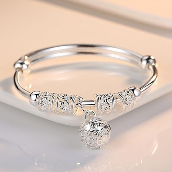 Charm Bracelet, Sterling, Fashion, 925 sterling silver
