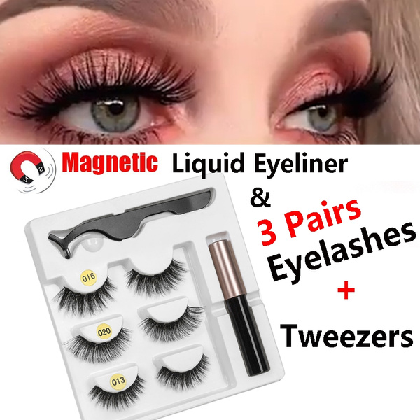 False Eyelashes, liquideyeliner, mixedeyelashe, Tweezers