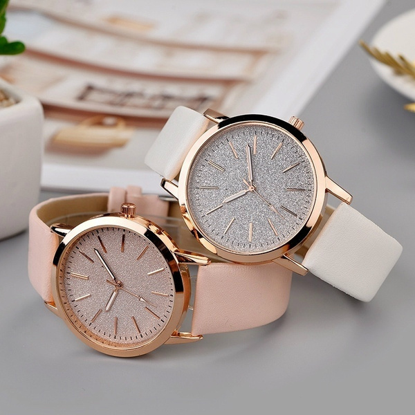 pink, Fashion, Casual Watches, Clock