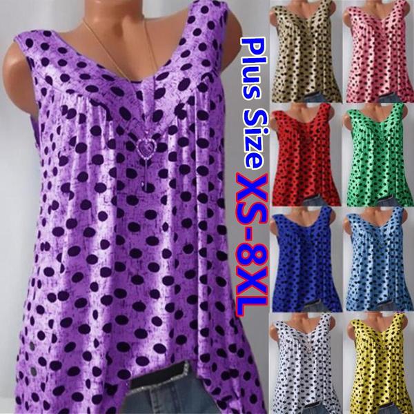 Summer, Vest, womens top, Cotton T Shirt