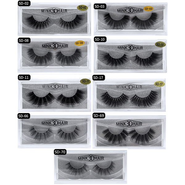 False Eyelashes, 3dimitationminkhair, eye, Beauty