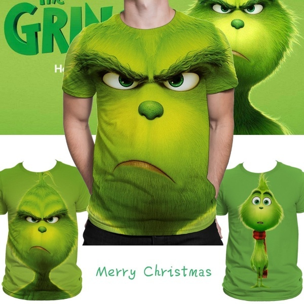 Fashion, Christmas, printed, grinch