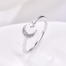 Sterling, DIAMOND, Women Ring, Sterling Silver Ring