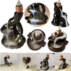 Home Decor, Porcelain, incenseburner, Ceramic