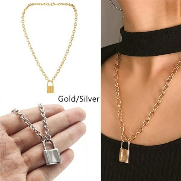Fashion, punk necklace, Chain, punkchoker