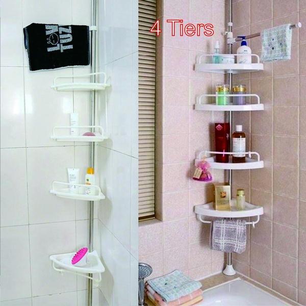 wallshowerrack, Bathroom, Adjustable, Triangles