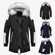 Jackets for men, fur coat, hoodedjacketmen, cottonjacket