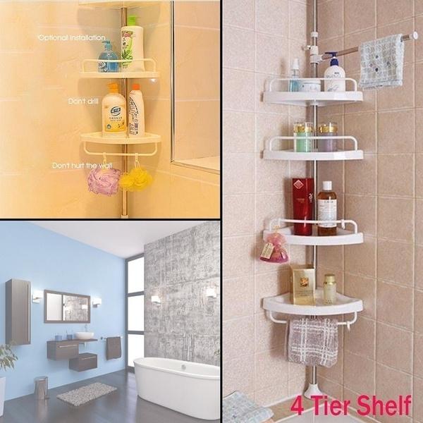 Bathroom, Adjustable, Shelf, bathroomshelf
